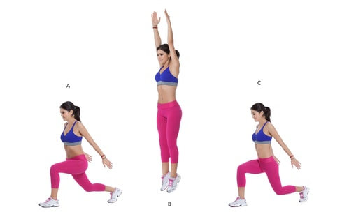 fat burning exercises for at home