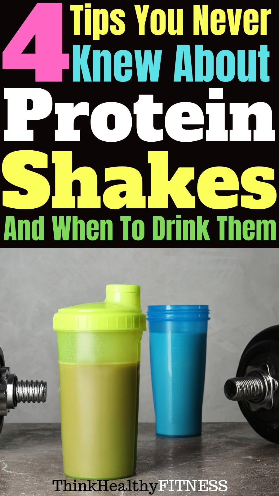 When To Drink Protein Shakes