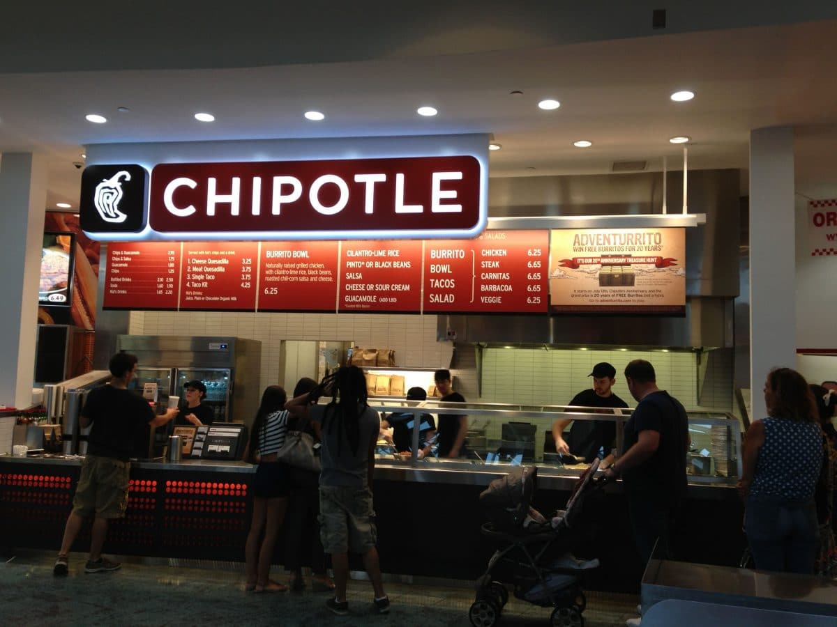 High Protein Fast Food Option #1 – Chipotle